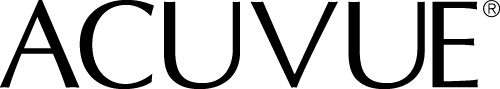 Acuvue Brand logo black and white