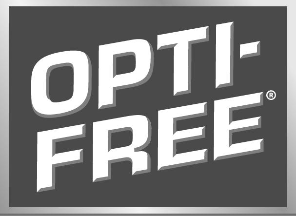 Opti Free Eye Drops Brand Logo
