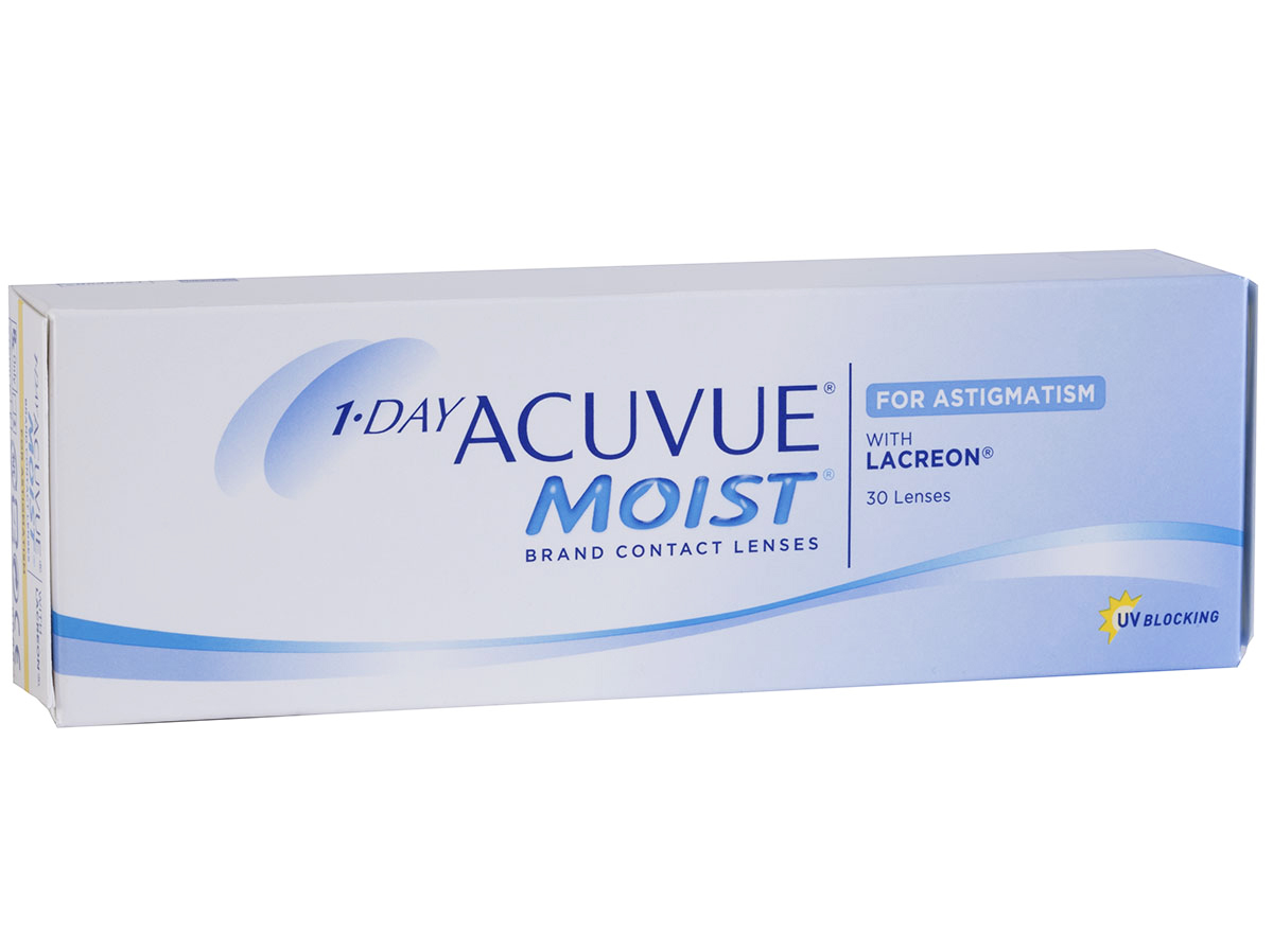 1 Day Acuvue Moist for Astigmatism with Lacreon