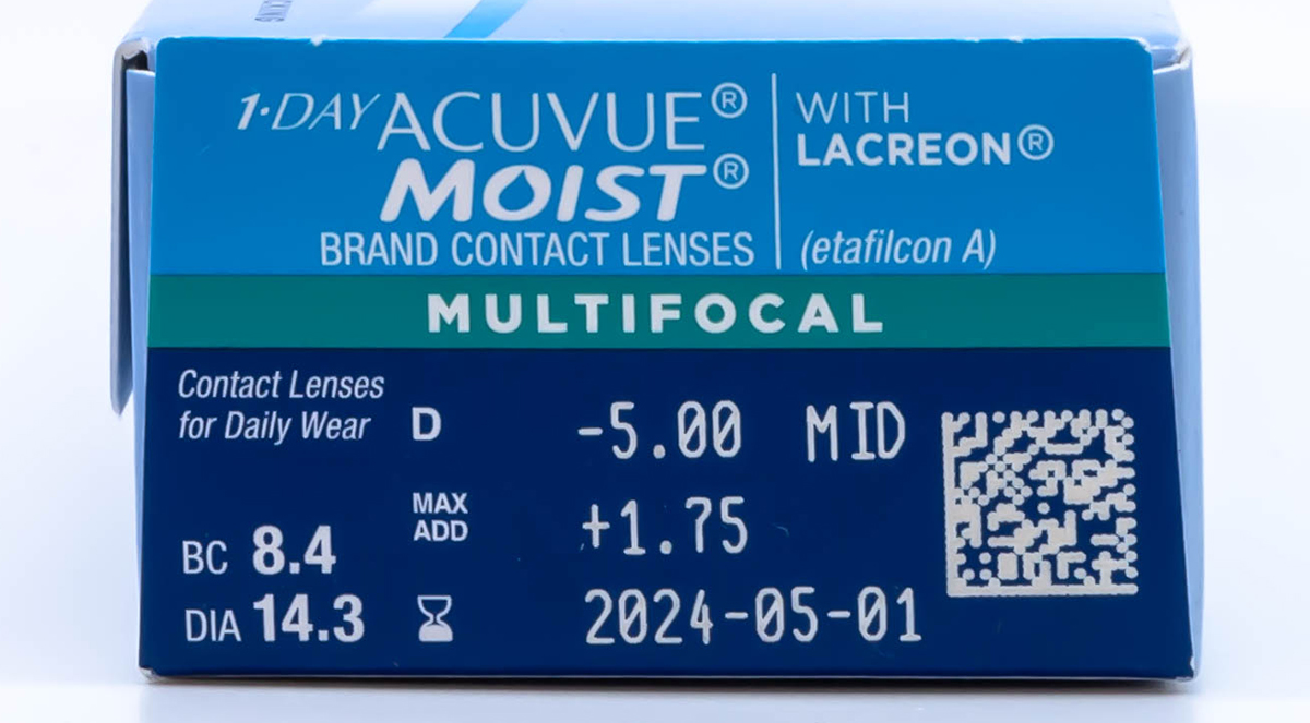1 Day Acuvue Moist Multifocal 30 Pack Prescription