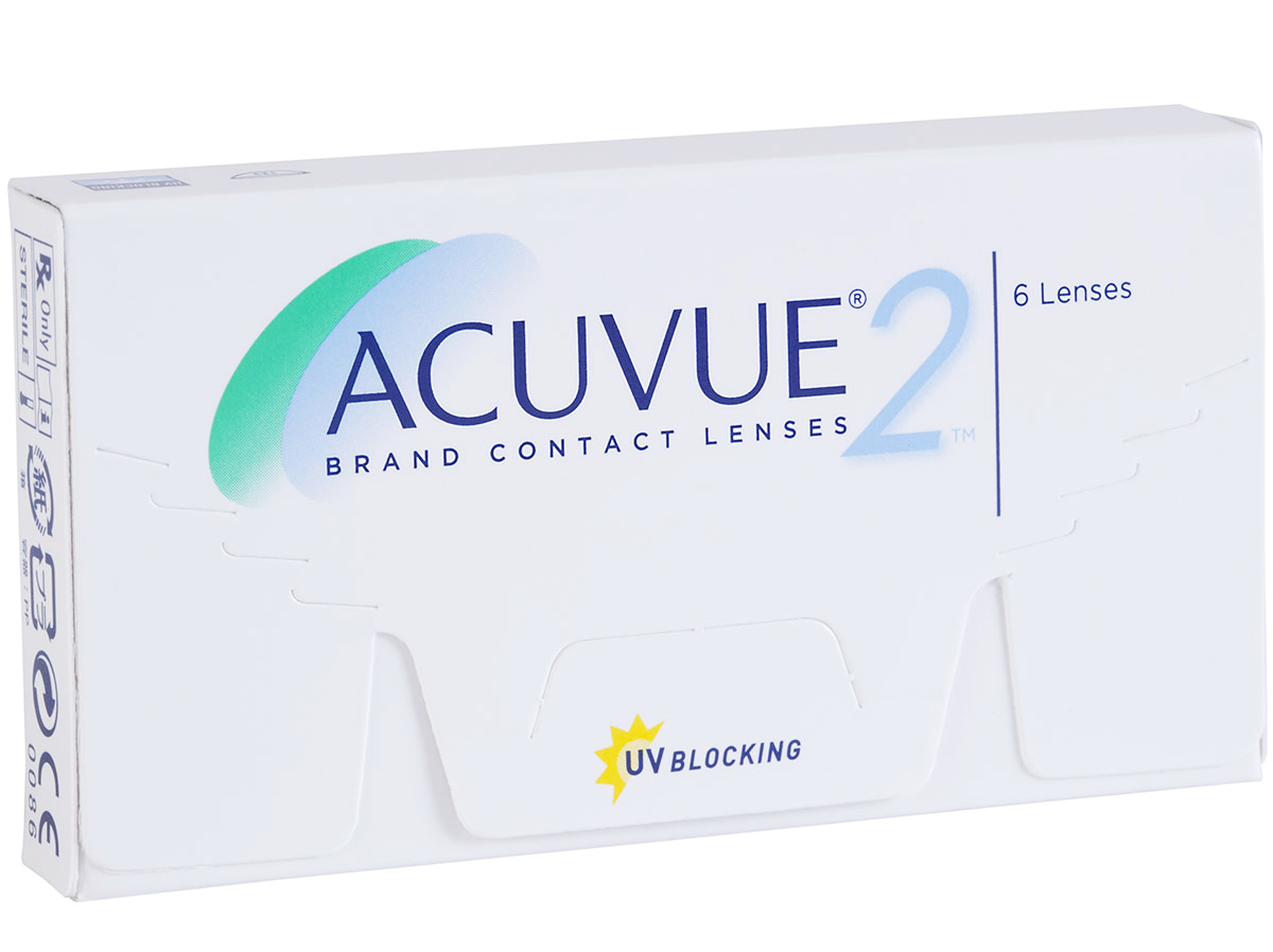 Cheap Acuvue 2 Contacts 6 Pack Box