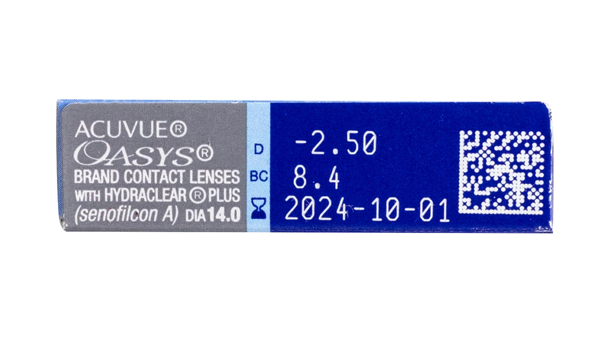 Acuvue Oasys 6 Pack Rx