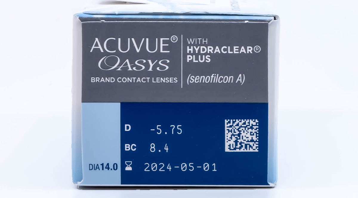 Acuvue Oasys 24pk side