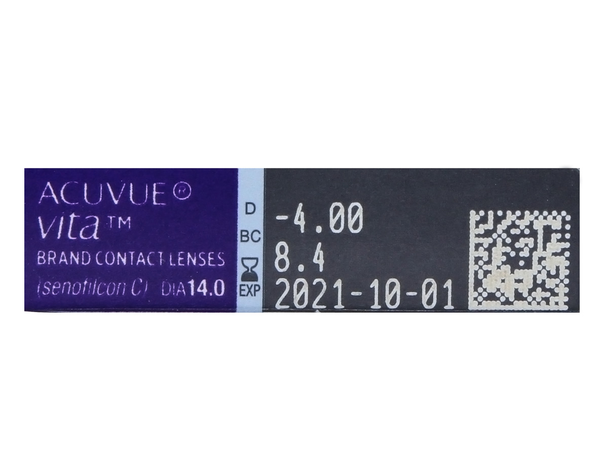Acuvue Vita Contacts 6pk RX