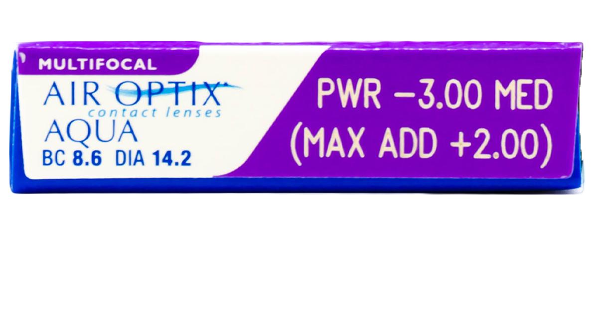 Air Optix Aqua Multifocal Contacts Powers