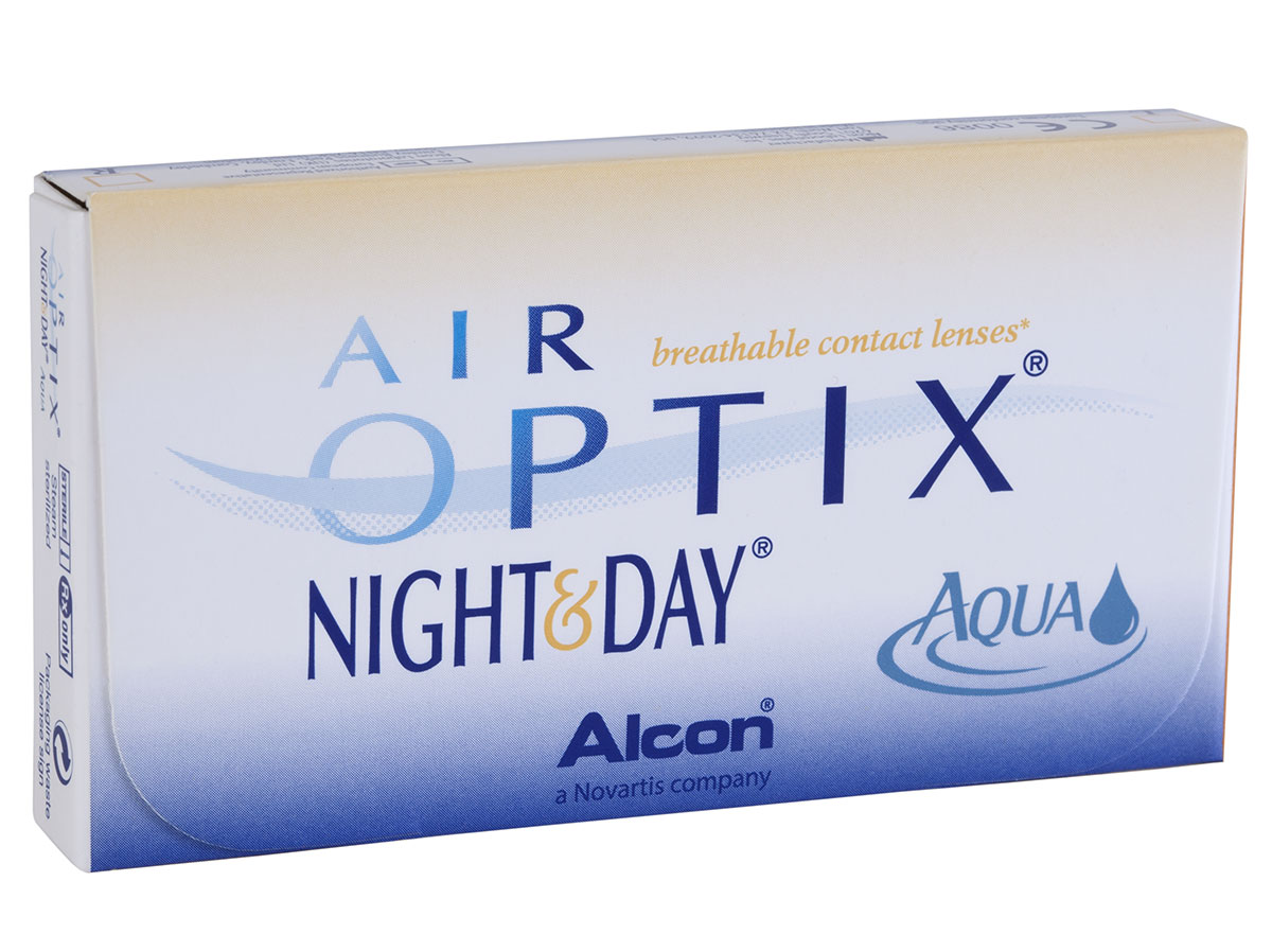 Air Optix Night & Day Aqua 6pk