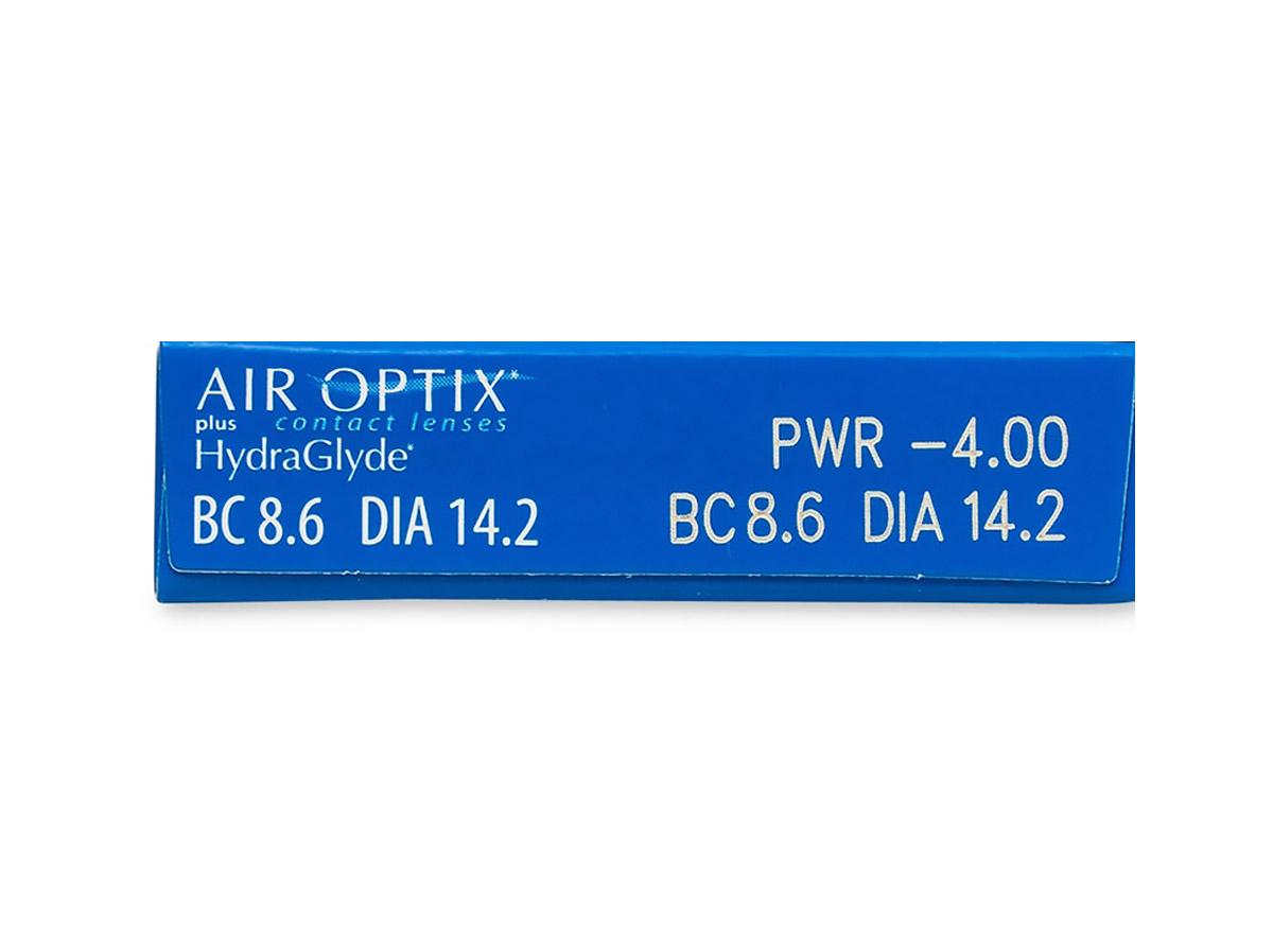 Air Optix Plus Hydraglyde RX