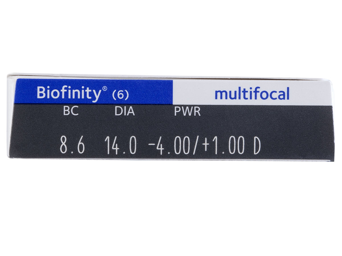 Biofinity Multifocal Contacts Powers