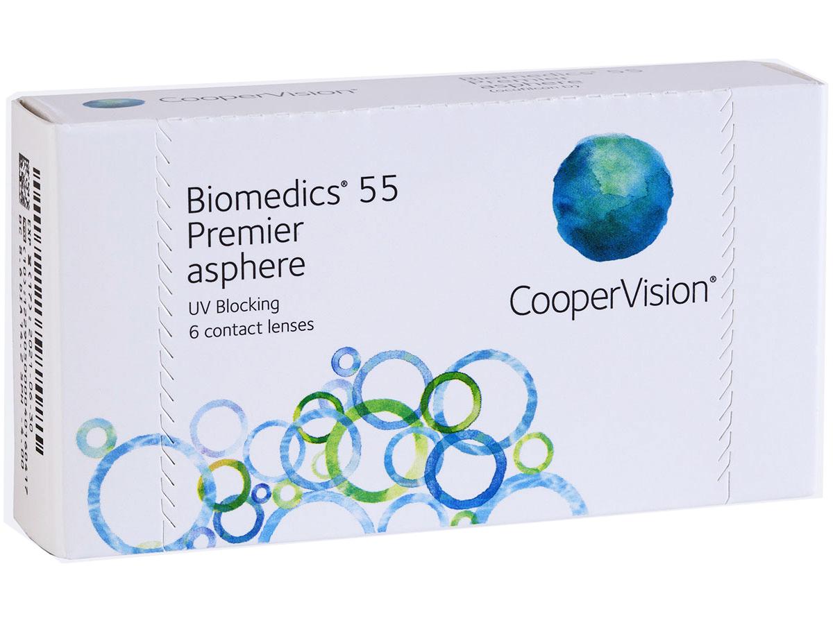 Biomedics 55 Premier Aspheric Lenses For Astigmatism