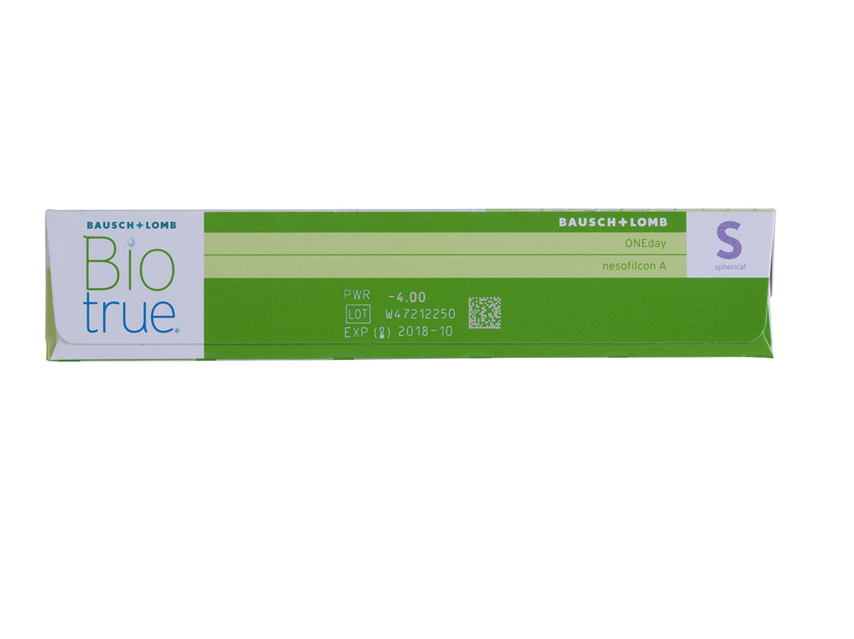 BioTrue ONEday for Astigmatism 90 Pack Contact Lenses Rx Powers