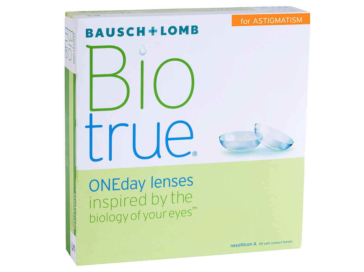 BioTrue ONEday for Astigmatism 90 Pack Contact Lenses