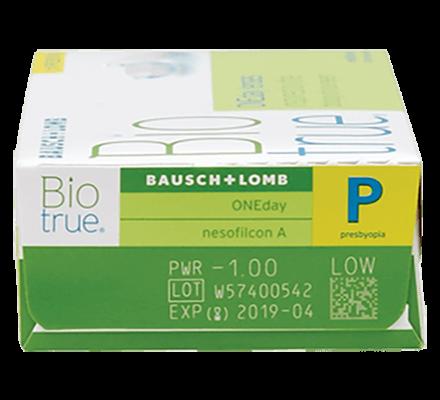 Biotrue 1 day for presbyopia 30 pack rx