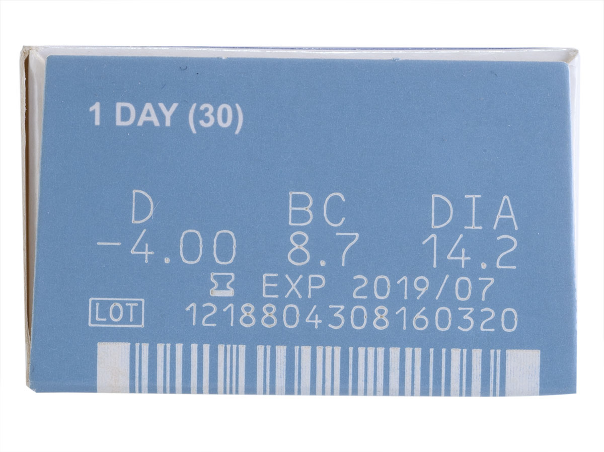 clearsight 1 day 30 pack contacts power