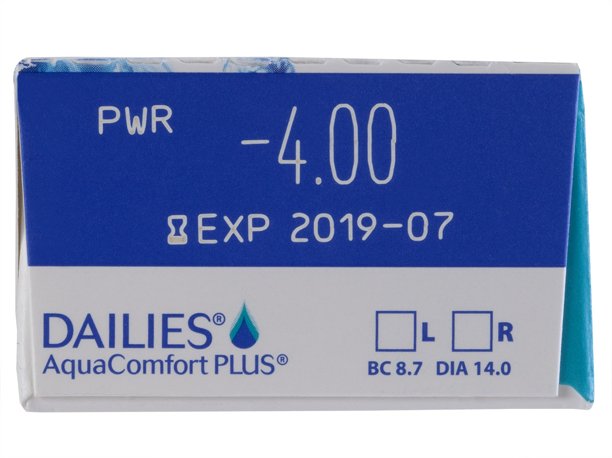 DAILIES Aquacomfort Plus 30 Pack Power