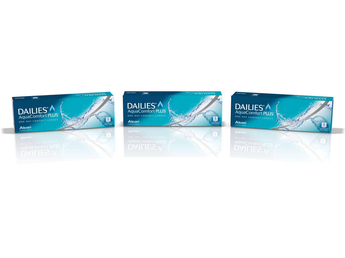 DAILIES Aquacomfort Plus 30 Pack Contact Lenses