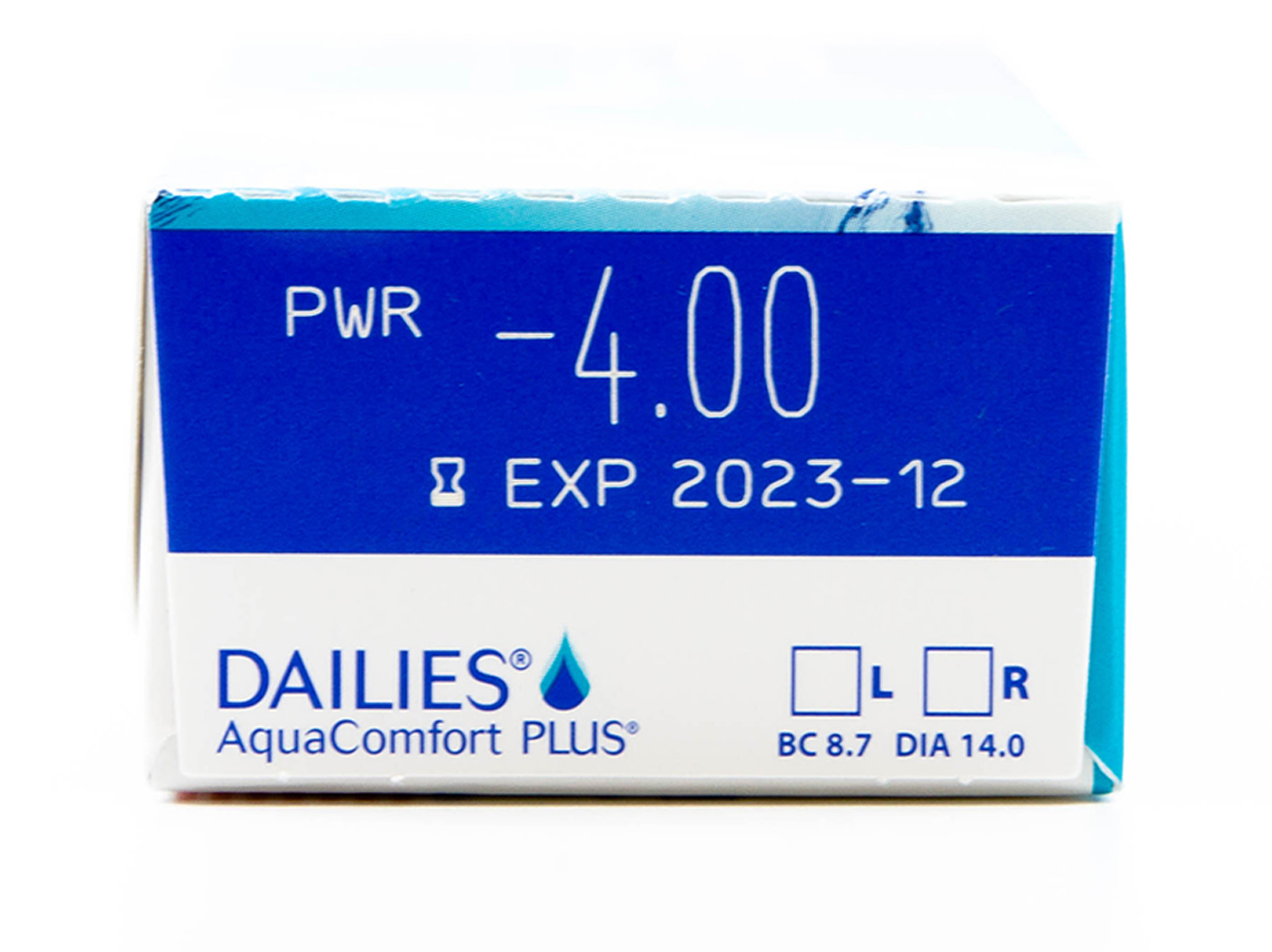 DAILIES Aquacomfort Plus 30 Pack Power