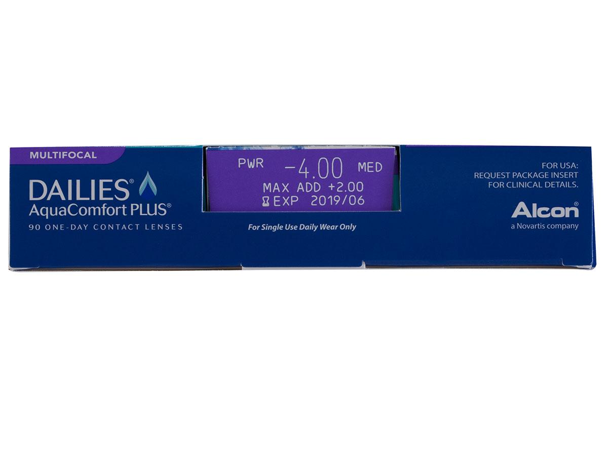 DAILIES AquaComfort Plus Multifocal 90pk Power