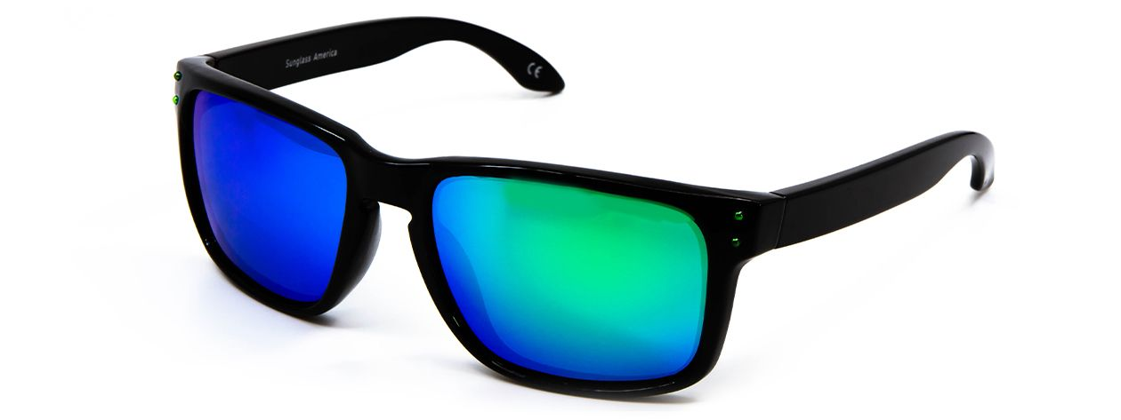 Jordan - Black - Green Revo Side