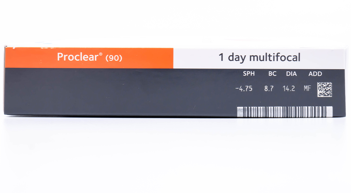 Proclear 1-Day Multifocal 90pk