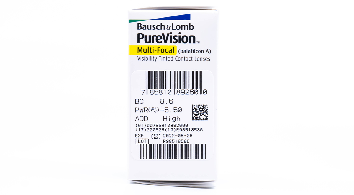 PureVision Multifocal Contact Lens Powers