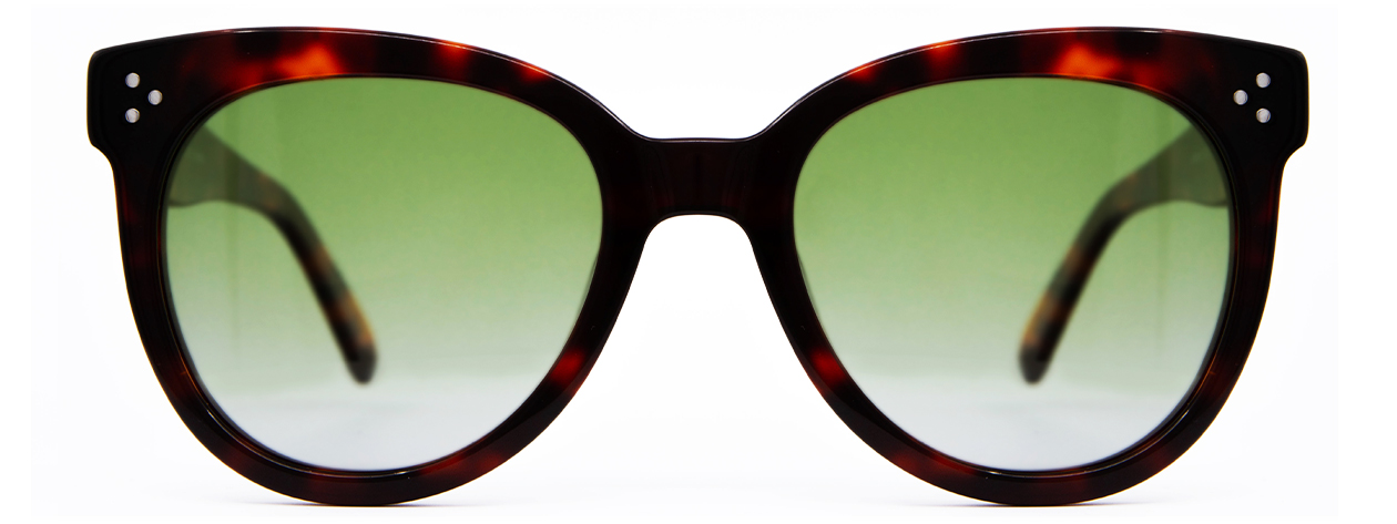 Ray-Ban Clubmaster Black and Green