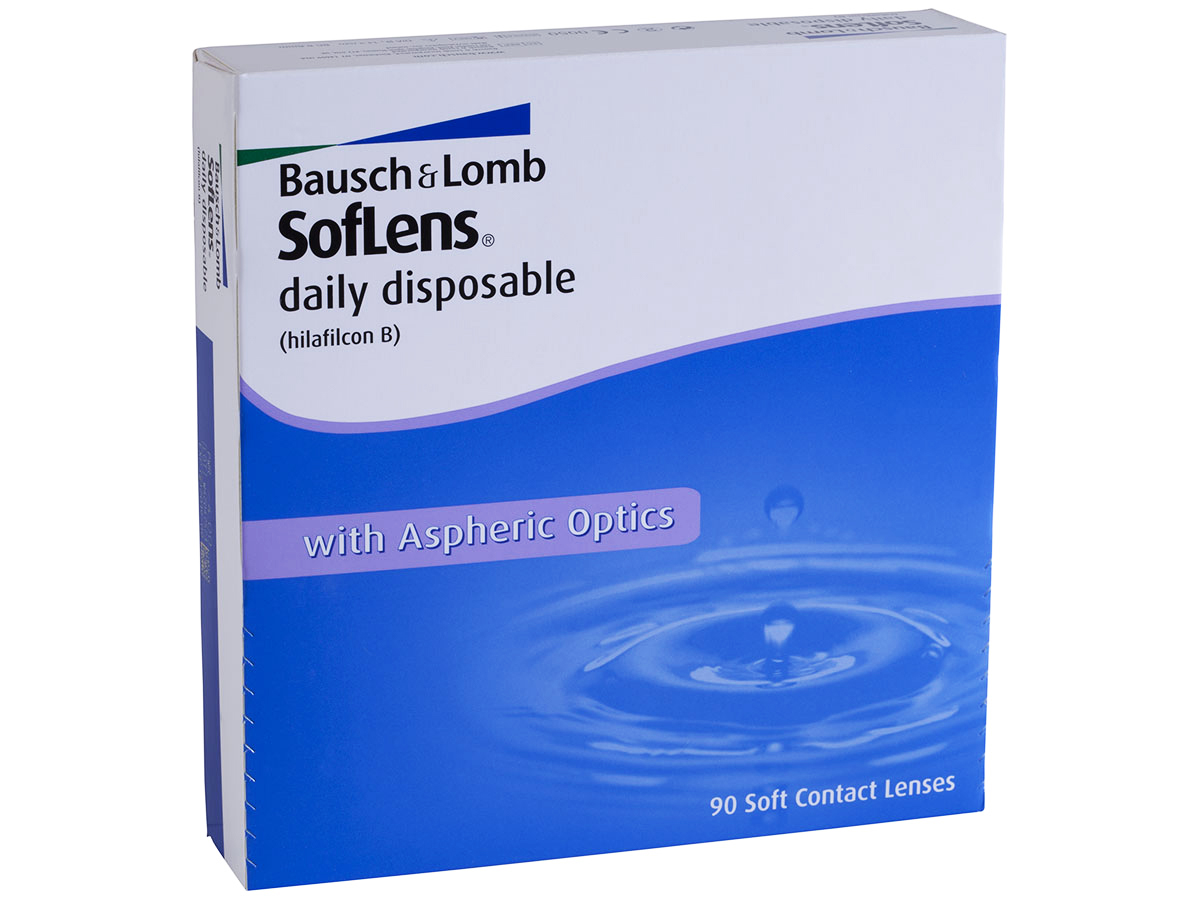 Soflens Daily Disposable 90 Pack