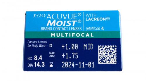 1 Day Acuvue Moist Multifocal 30 Pack Prescription