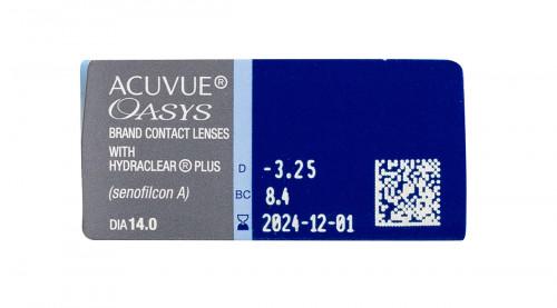 Acuvue Oasys 12 Pack Powers