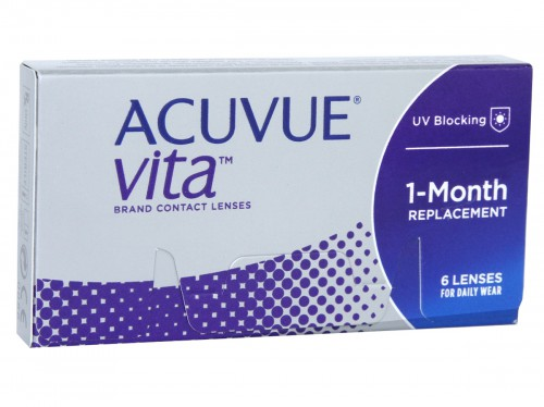 Acuvue Vita Contacts Front 6pk