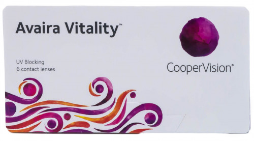 Avaira Vitality Contacts Front