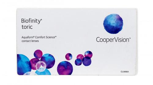 Biofinity Toric 6pk