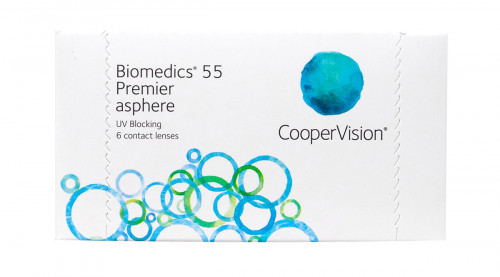 Biomedics 55 Premier Aspheric Lenses For Astigmatism