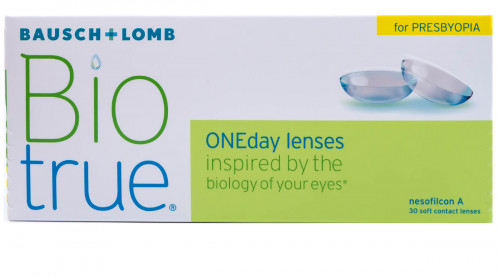 Biotrue 1 day for presbyopia 30 pack