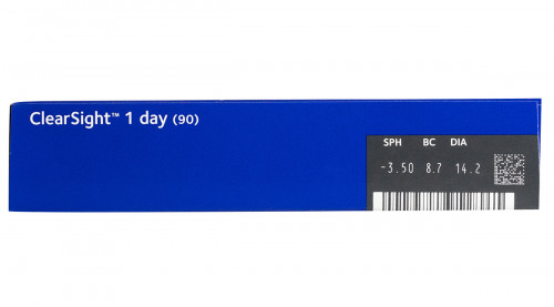 clearsight 1 day 90 pack contact lens powers