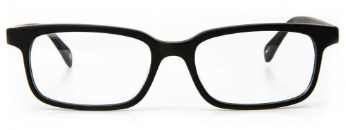 Crispin - Matte Black Glasses