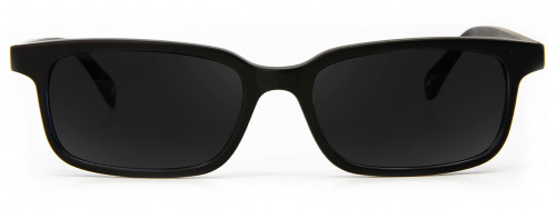 Crispin - Matte Black - Sunglasses Glasses