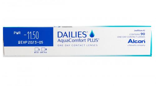 DAILIES Aquacomfort Plus 90 Pack Power