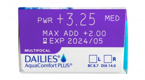 DAILIES AquaComfort Plus Multifocal 30 pack Power