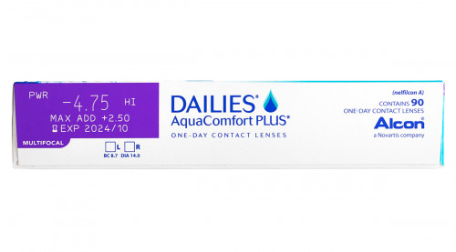 DAILIES AquaComfort Plus Multifocal 90pk Power