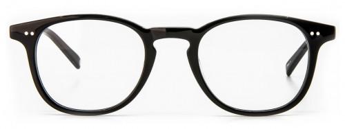 Emory - Shiny Black Glasses