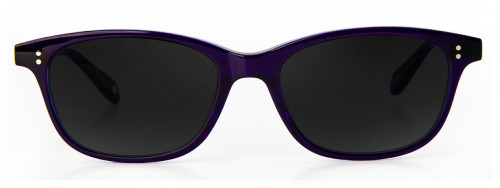 Madison - Blue Crystal Laminate - Sunglasses Glasses