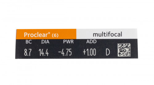 Proclear Multifocal Contacts Powers