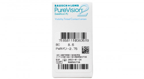 Purevision 2 HD Contacts Power