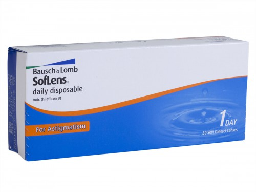 Soflens Daily Disposable Toric for Astigmatism 30 Pack